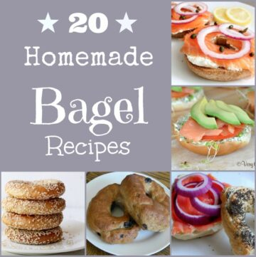 20 Homemade Bagel Recipes