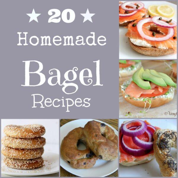 20 Homemade Bagel Recipes