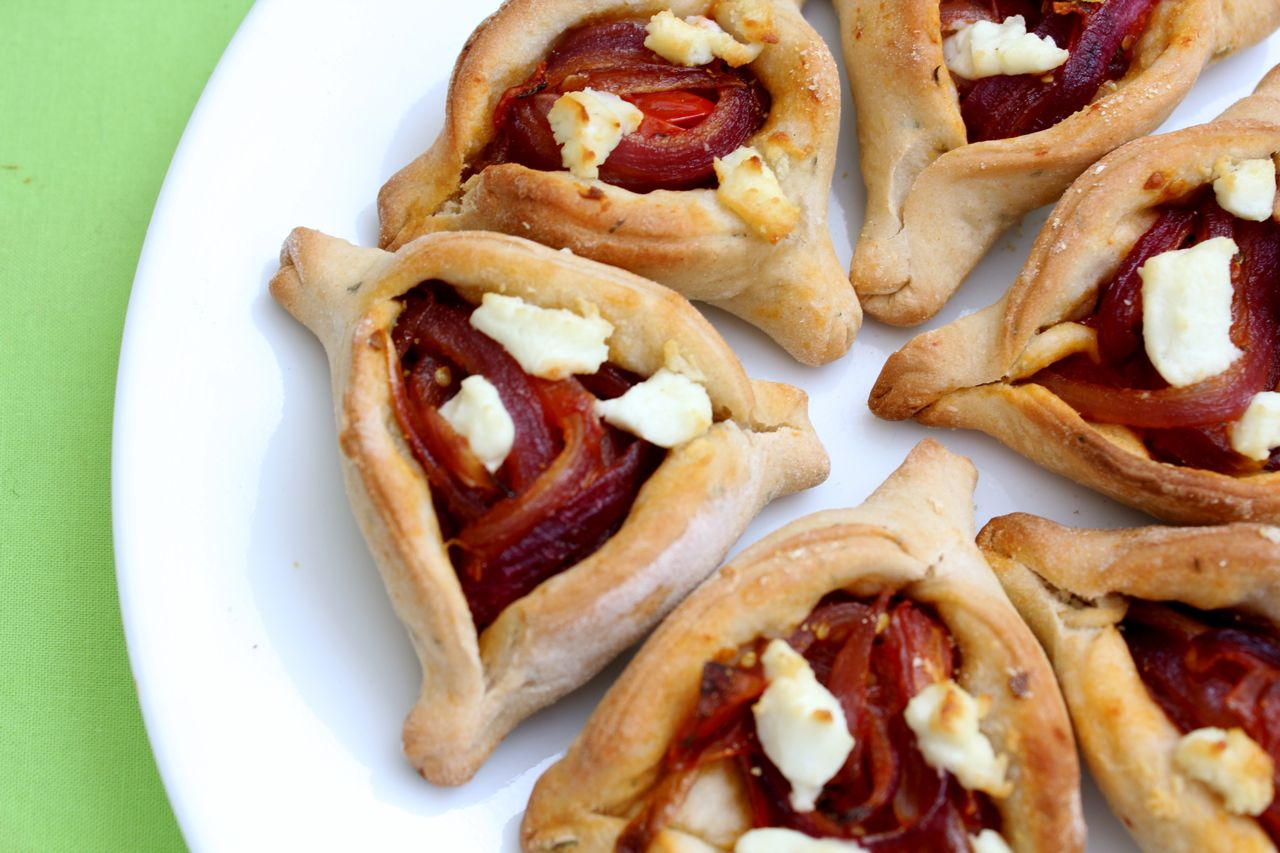 Savory Caramelized Onion Hamantaschen - What Jew Wanna Eat