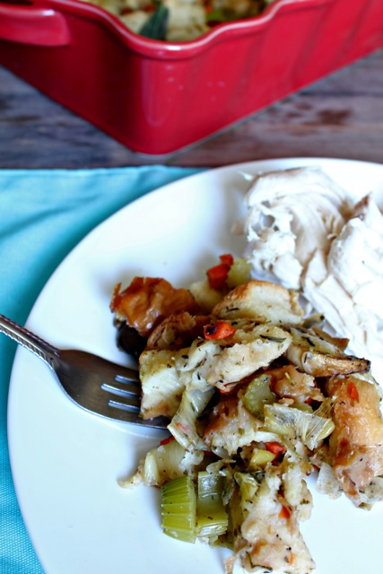 mushroom, challah, dressing, stuffing, Thanksgiving, kosher, pareve