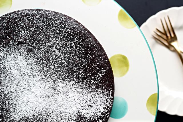 Flourless Chocolate Cayenne Cake