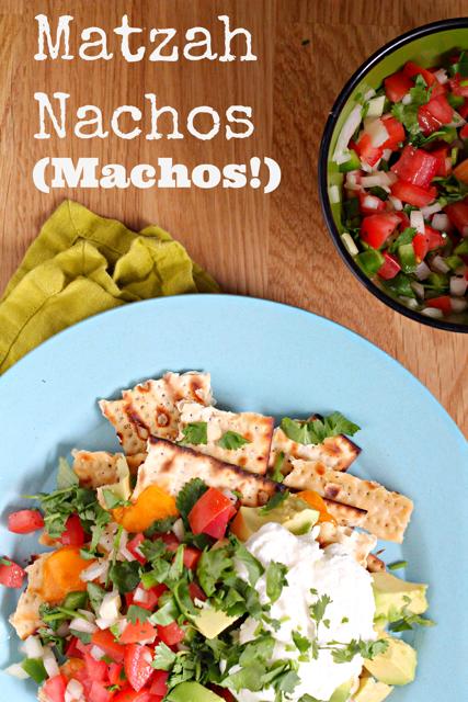 Matzah Nachos (Machos!)