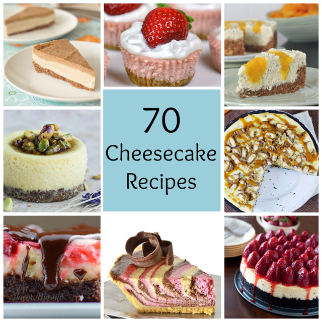 70 Cheesecake Recipes