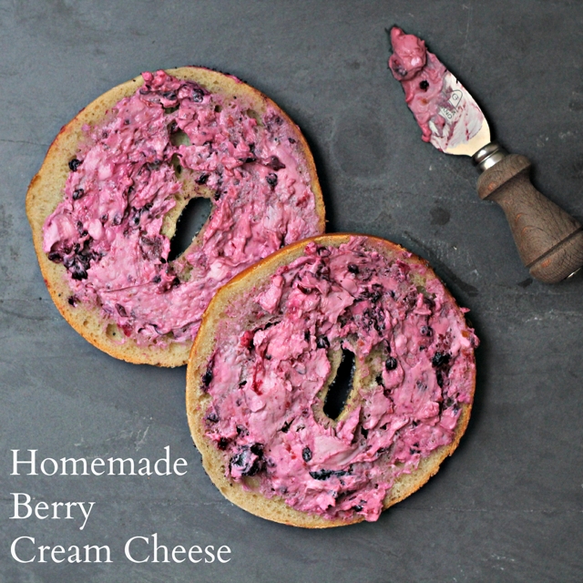Homemade Berry Cream Cheese Recipe