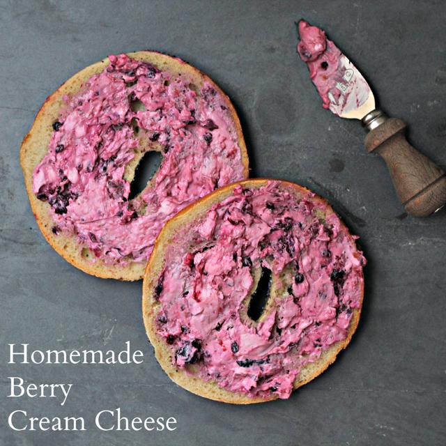Homemade Berry Cream Cheese Recipe