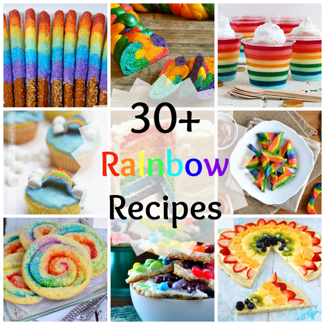 30+ Magical Rainbow Recipes!