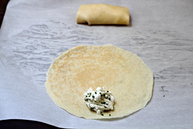 Cream Cheese Blintzes
