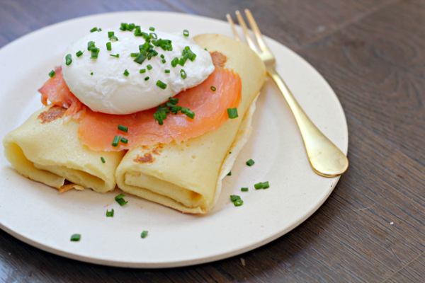 Cream Cheese Blintzes