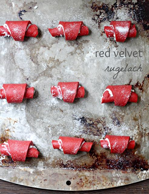 Red Velvet Rugelach
