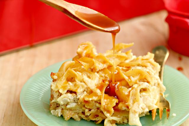 Caramel Apple Kugel