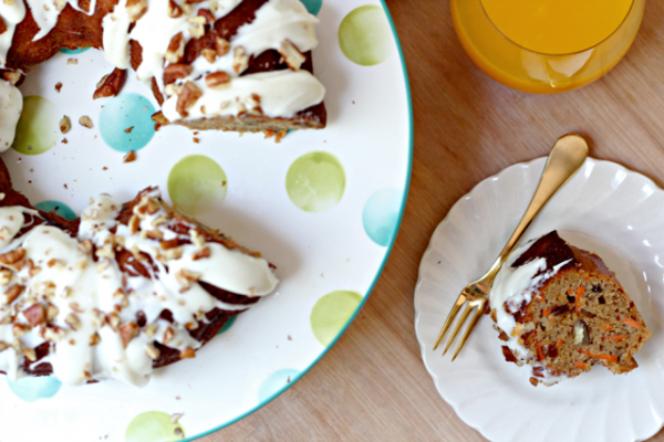 Carrot Sweet Potato Cake