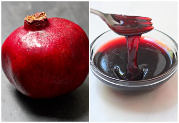 Pomegranate Beet Challah