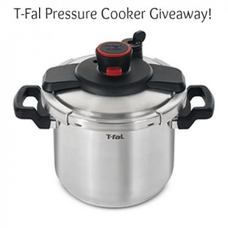 T-fal Clipso Pressure Cooker and Zabada Giveaway!