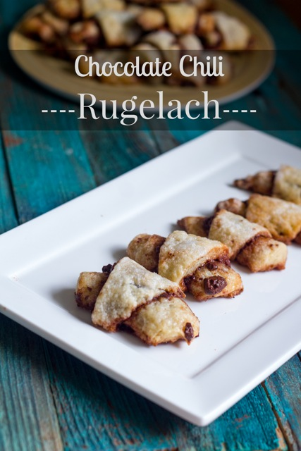 Chocolate Chili Rugelach