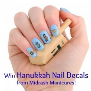 Hanukkah Nail Decals Giveaway!