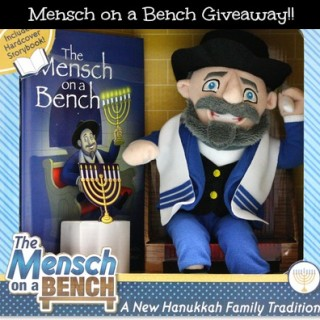Mensch on a Bench Giveaway!