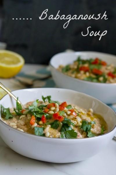 Babaganoush soup