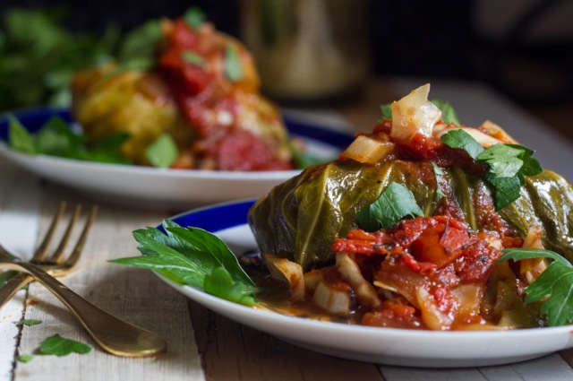 Stuffed Cabbage- Gluten Free