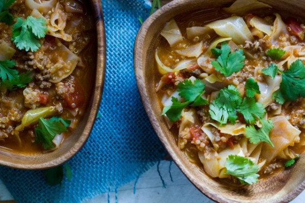 Stuffed Cabbage Soup
