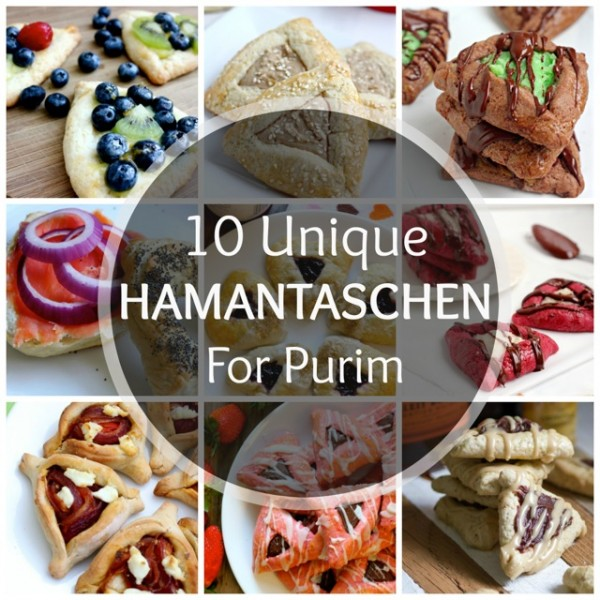 10 Unique Hamantaschen