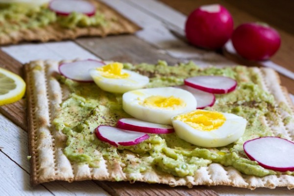 Avocado Matzah Toast ChiTribe