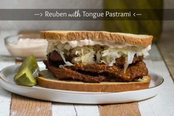 Reuben with Tongue Pastrami