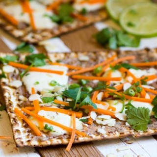 Thai Matzah Pizza