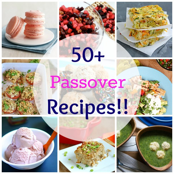 50 Passover Recipes