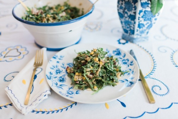 Arugula Orzo Salad