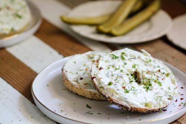 Dill Pickle Cream Cheese