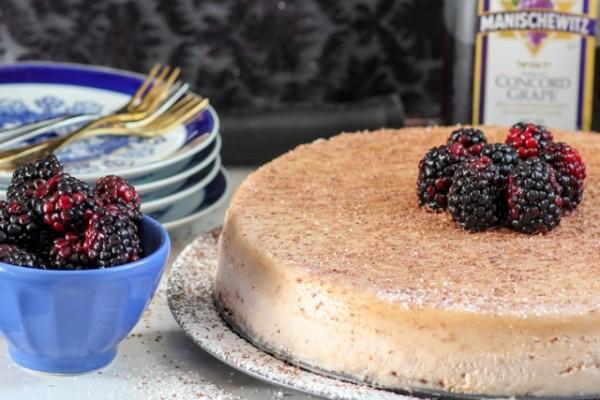 Manischewitz Cheesecake