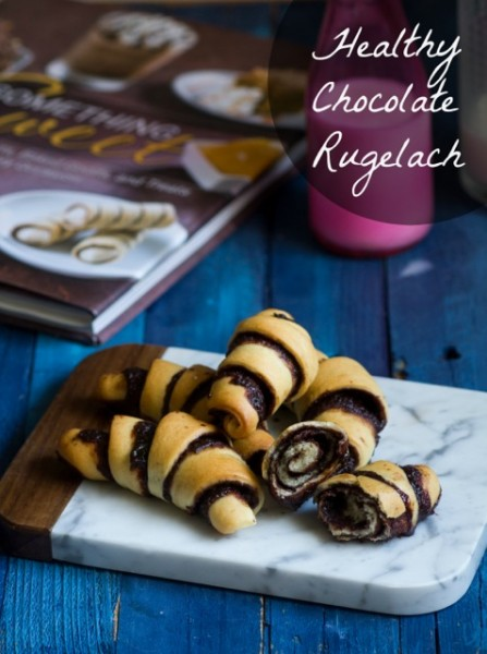 Healthy Chocolate Rugelach