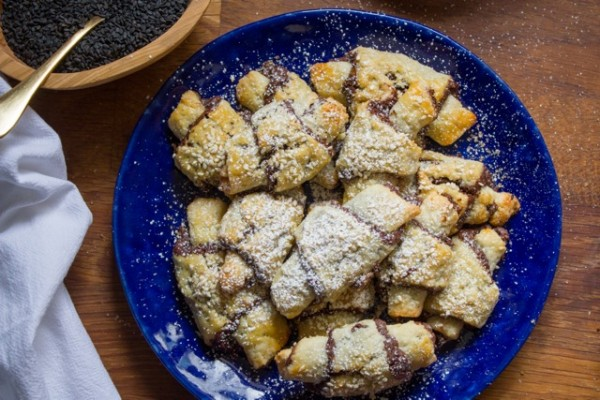 Chocolate Halvah Rugelach