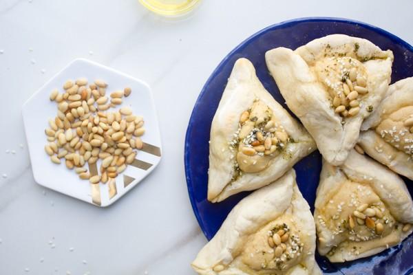 Pita and Hummus Hamantaschen