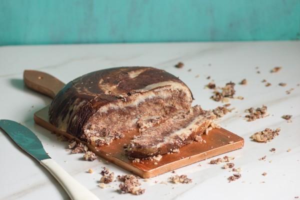 Chocolate Cardamom Halvah