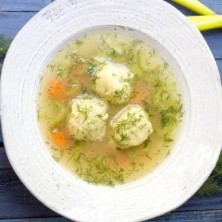 Gluten Free Matzah Ball Soup