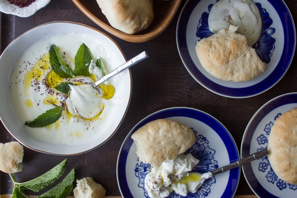 Whipped Goat Labneh