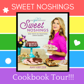 Sweet Noshings Cookbook Tour!