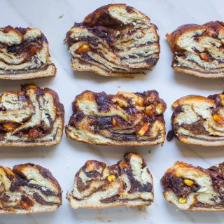 Pumpkin Chocolate Babka