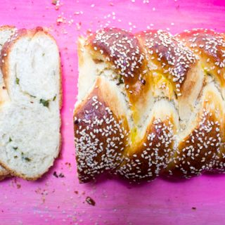 Scallion Pancake Challah