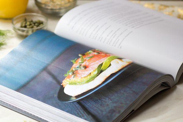 Smoked Salmon Avocado Tartine