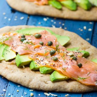 Smoked Salmon Avocado Tartine