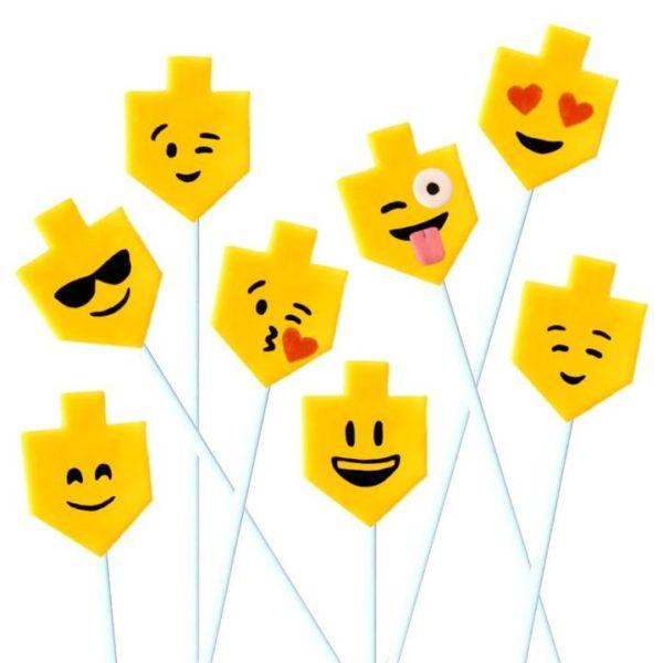 Marzipan Dreidel Emojis