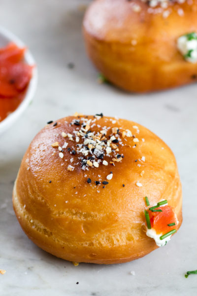 Everything Bagel Sufganiyot