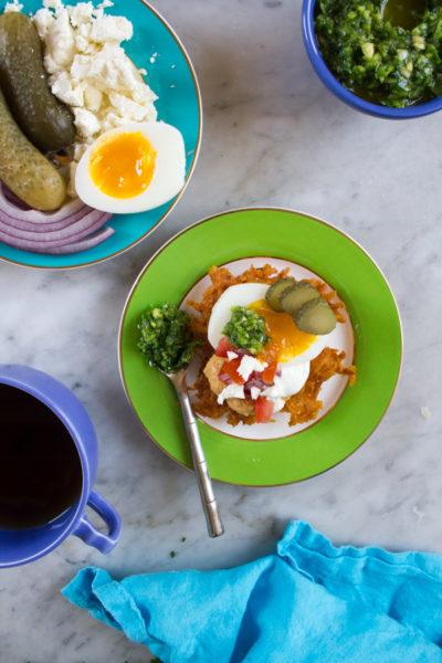 Israeli Breakfast Latkes