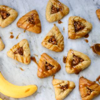Bananas Foster Hamantaschen