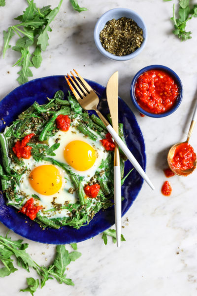 Green Bean Shakshuka