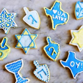 Hanukkah Sugar Cookies