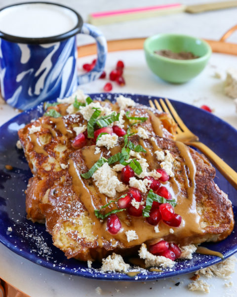 Cardamom Challah French Toast