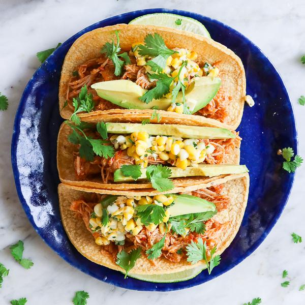 Harissa Chicken Tacos